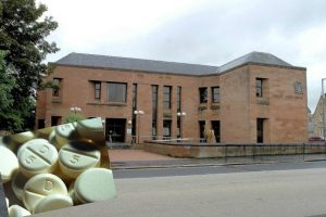 Drugs Stashed In Court Staff Room